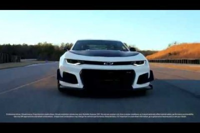 Meet the 2018 Camaro ZL1 with 1LE Track Package | Chevrolet