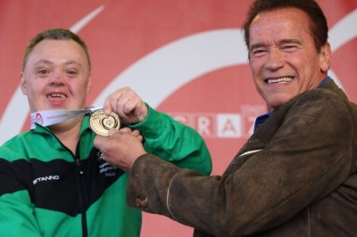 Schwarzenegger shuts up internet troll for mocking Special Olympics